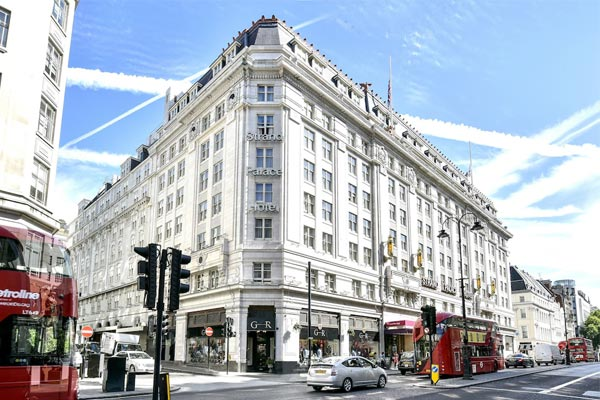 flyg hotell london
