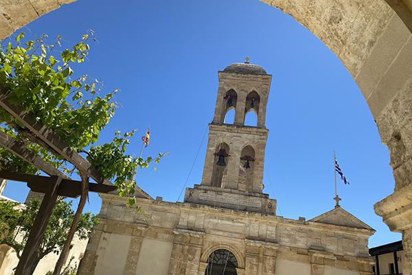 """Gonia-klosteret som besøkes på utflukten """"Smaken av Kreta"""""""