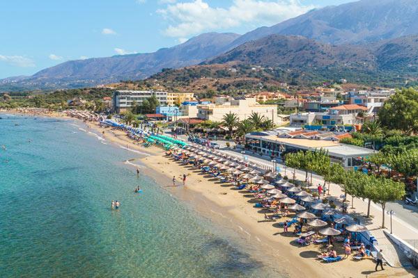 Georgioupolis på Kreta