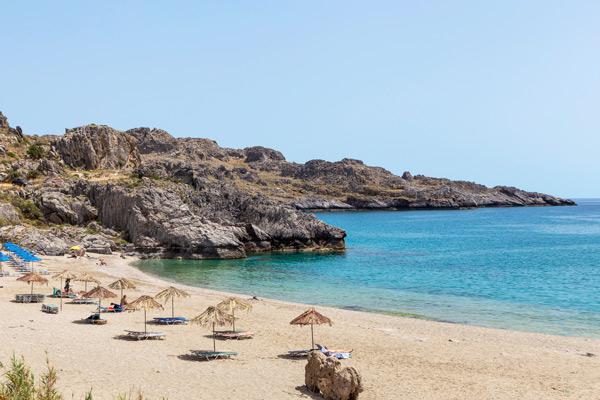 Plakias på Kreta