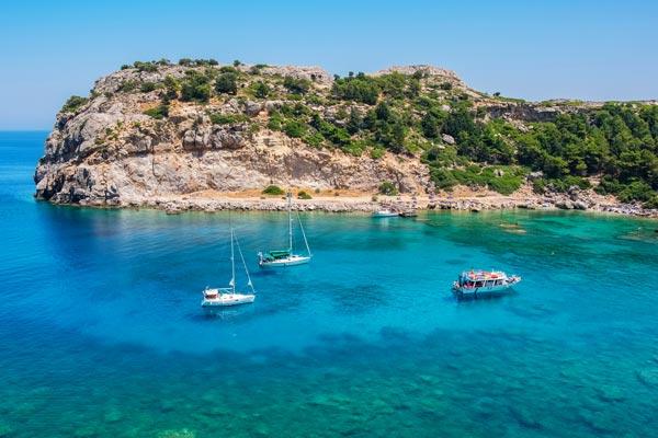 Bådture i Grækenland