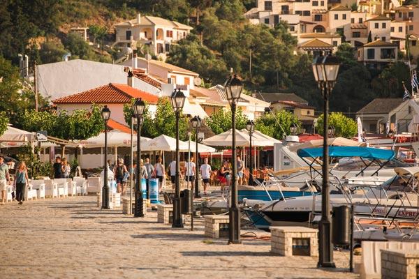 Havnen i Sivota