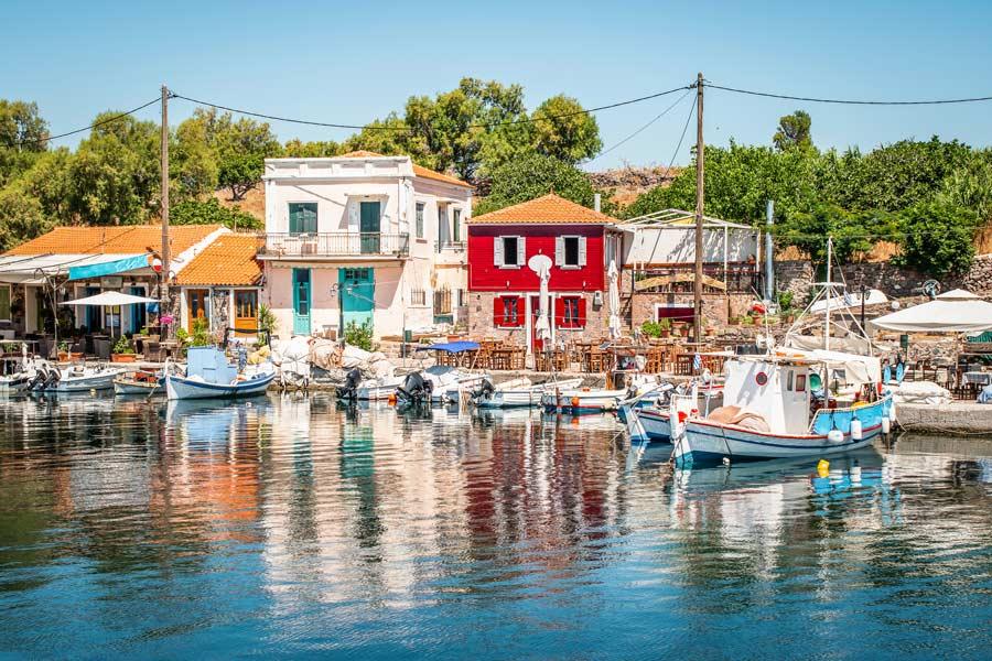 Lesvos i Grækenland