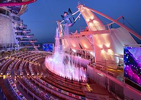 Show om bord Symphony of the Seas