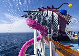 Vandrutsjebaner om bord på Symphony of the Seas