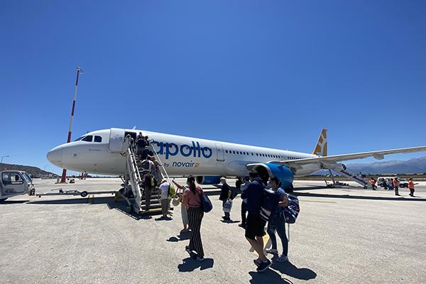 Novairs fly på Chania flyplass