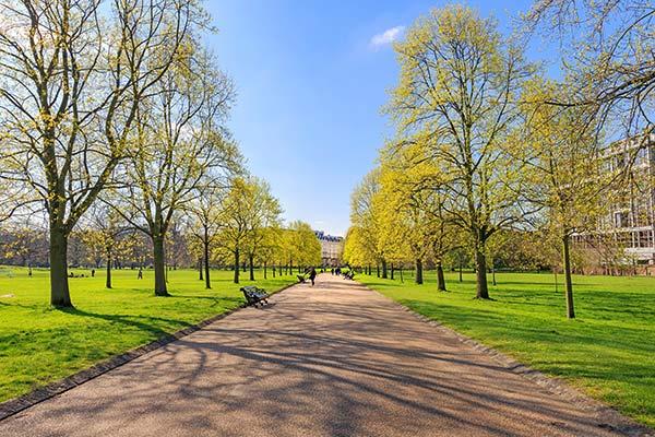 Hyde Park & Londons parker