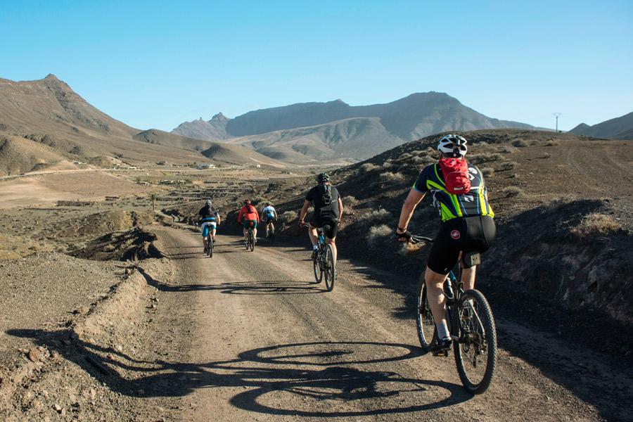Sykle på Fuerteventura