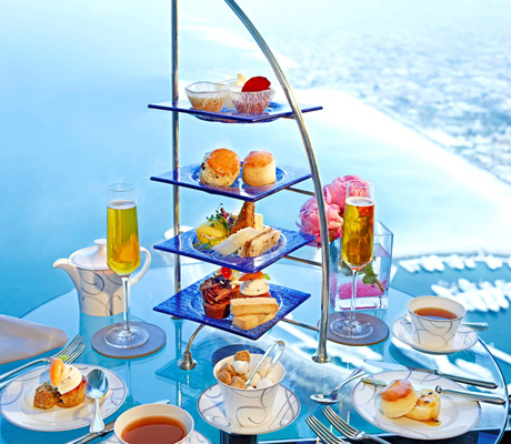 High Tea på Burj Al Arab