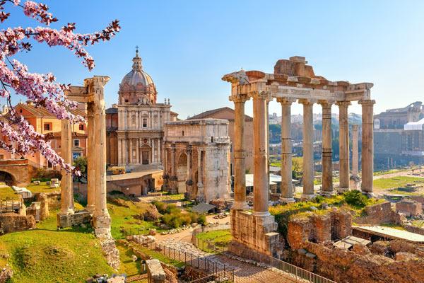 Storbyrejser til Rom