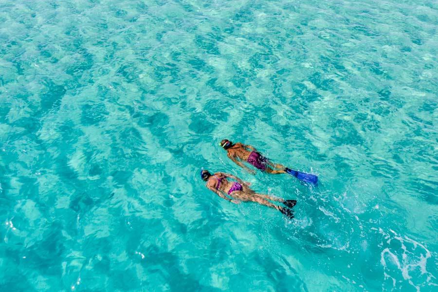 Snorkeling no Egito