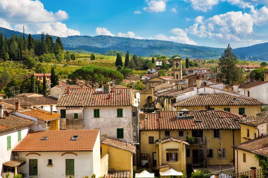 Karta Italien Chianti.Vingardar I Toscana Las Vara Vingards Tips For Toscana Pa Apollo Se