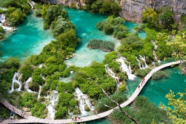 Biokovobergen i Kroatien