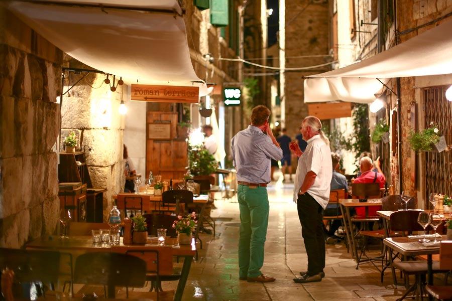 Restauranter ved Makarska Rivieraen