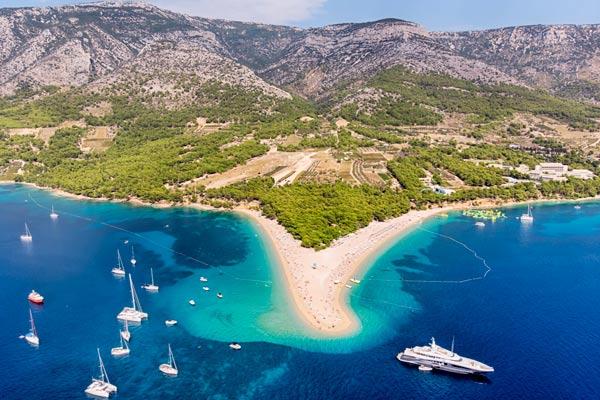 Zlatni Rat strand Kroatien