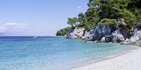 Stranden Kastani