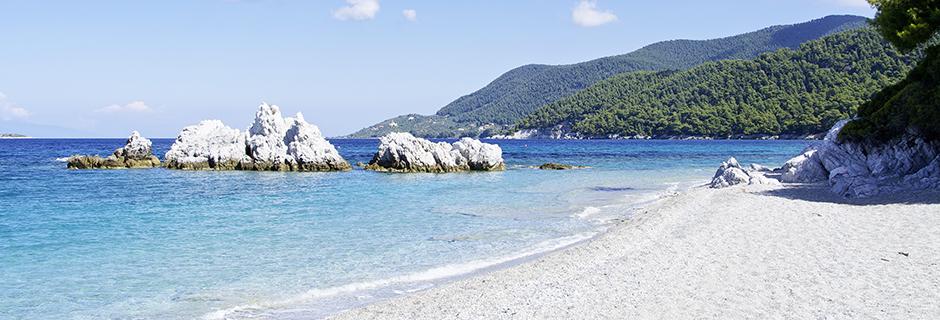 Stranden Milia