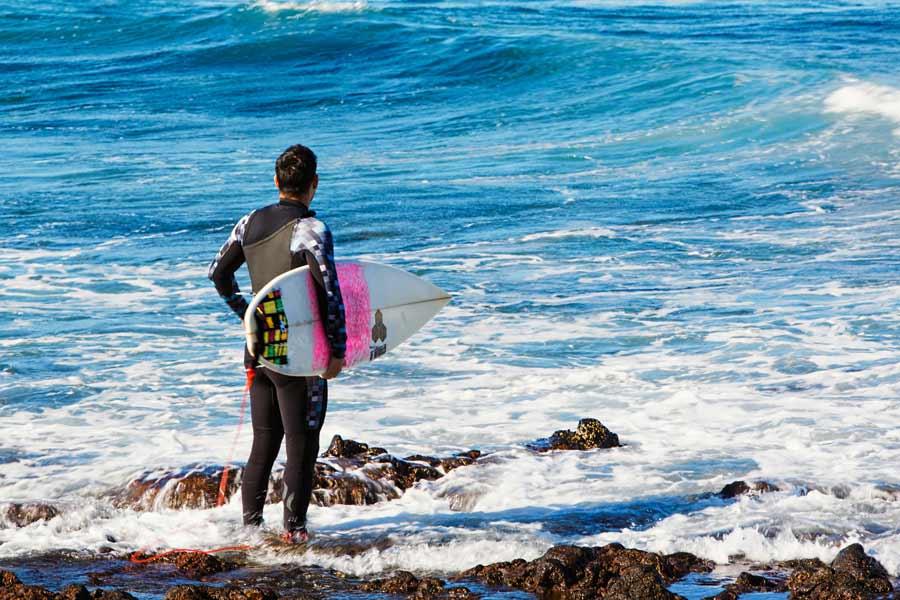 Surfing på Tenerife
